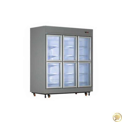 یخچال فروشگاهی 6 درب کوتاه کینو