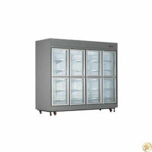 یخچال فروشگاهی 8 درب کوتاه کینو