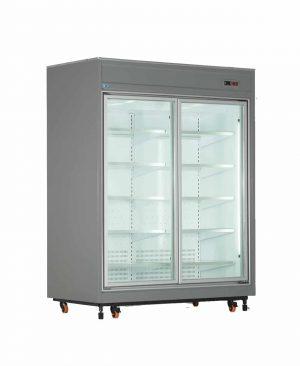 یخچال فروشگاهی دو درب عرض 170 کینو