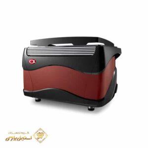 اسپرسوساز آستوریا دو گروپ تمام اتوماتيک مدل Plus 4 You مشکی قرمز