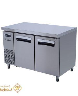 یخچال میز کار در استیل لاسله مدل Lassele LNRT-2B-1200