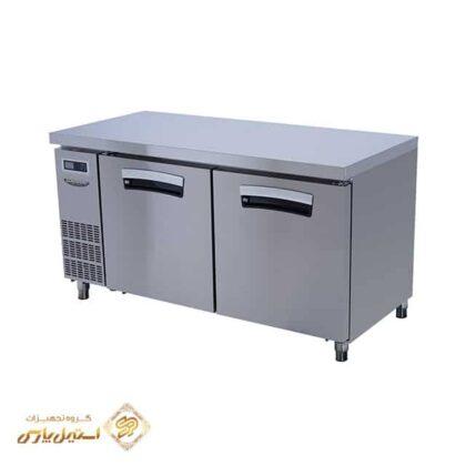یخچال میز کار در استیل لاسله مدل Lassele LNRT-2B-1500