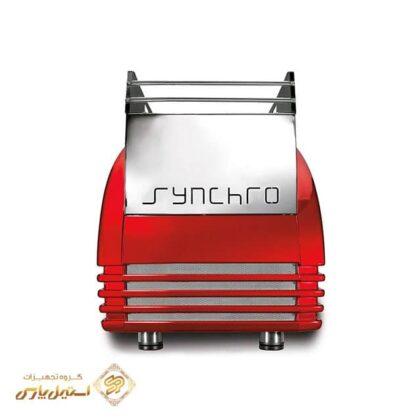 اسپرسوساز رویال تک گروپ نیمه اتومات سینچرو مدل Royal Synchro با قابلیت Tall Cup