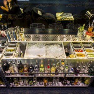 میز بار استیشن (کوکتل استیشن) Cocktail Station Bar