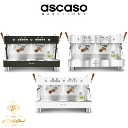 تنوع محصول اسپرسو ساز آسکاسو مدل Barista T Plus در هلدینگ استیل پارس