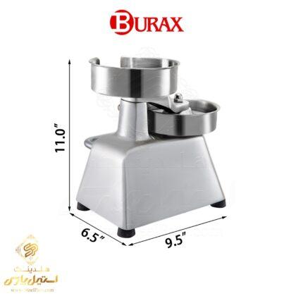همبرگر زن دستی براکس مدل Burax BM100