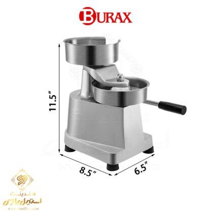 همبرگر-زن-دستی-براکس-مدل-Burax-BM130.BM150