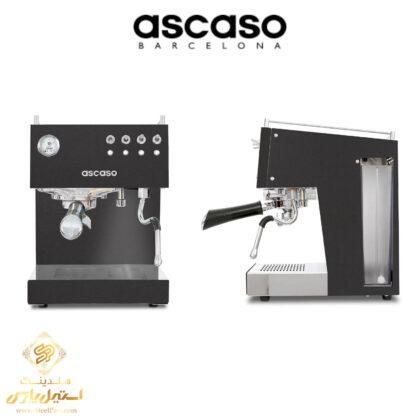 اسپرسو ساز آسکاسو مدل Ascaso Duo PID در هلدینگ استیل پارس